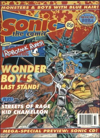 Sonic the Comic 9-A by Fleetway