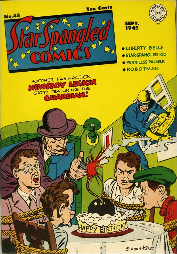 Star Spangled Comics (1941) 48-A by DC