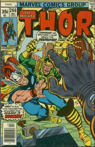 Thor (1966) 266-A by Marvel