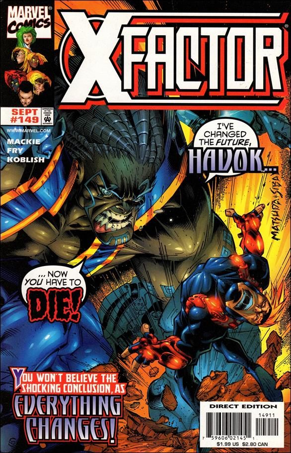 X-Factor (1986) 149-A by Marvel