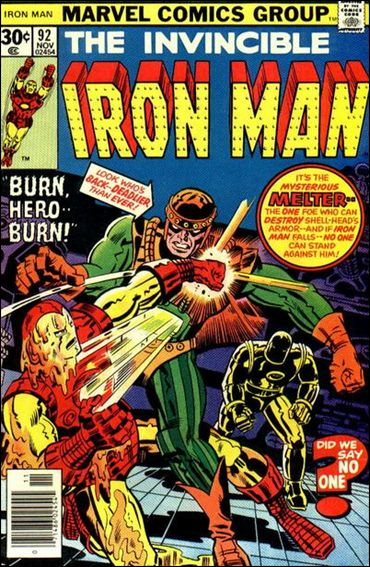 Iron Man (1968) 92-A by Marvel