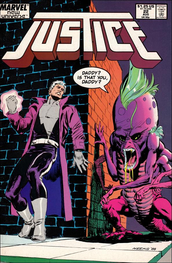 Justice (1986) 22-A by Marvel