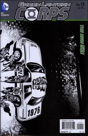 Green Lantern Corps (2011) 15-B