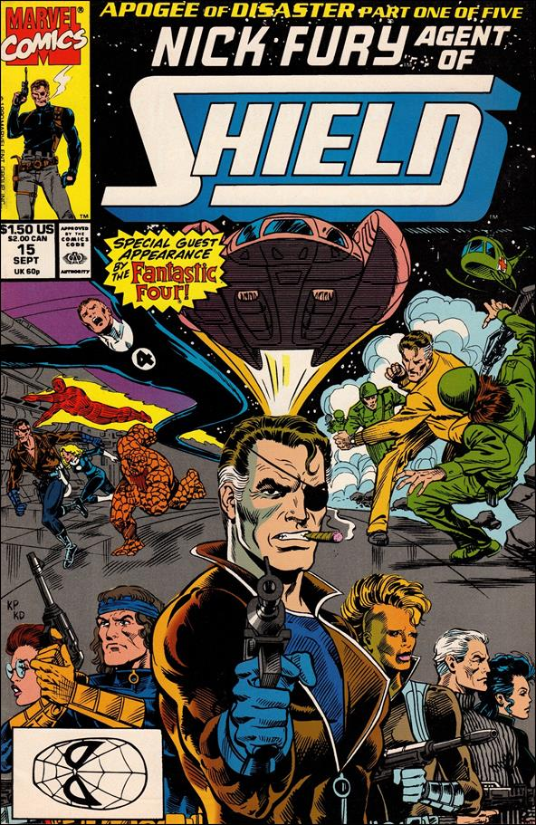 Nick Fury, Agent of S.H.I.E.L.D. (1989) 15-A by Marvel
