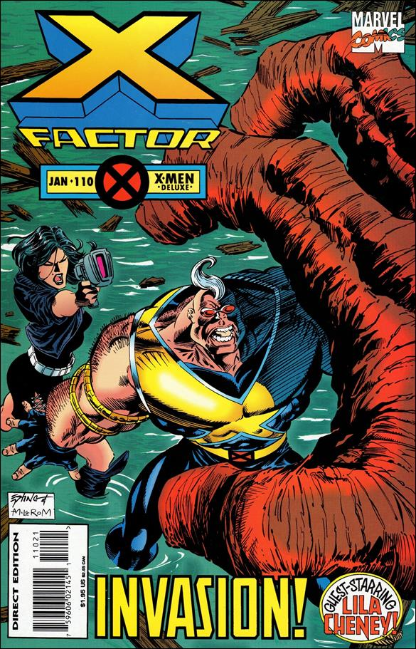 X-Factor (1986) 110-A by Marvel