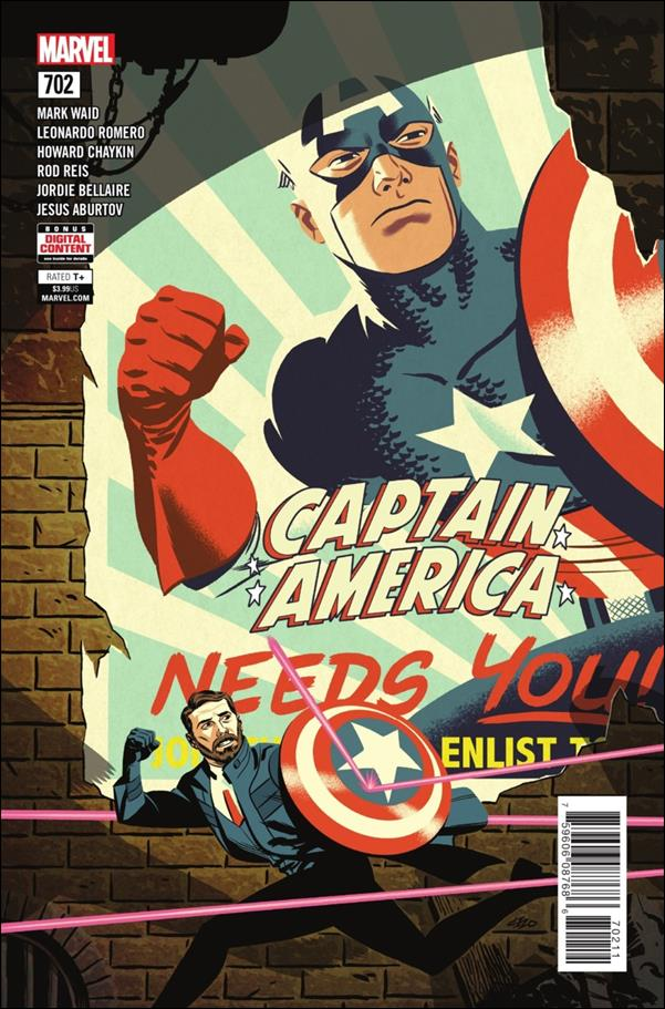 Captain America (1968) 702-A by Marvel