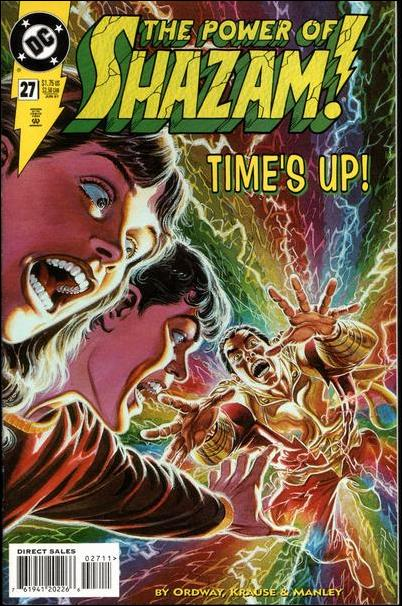 Power of Shazam! 27-A by DC