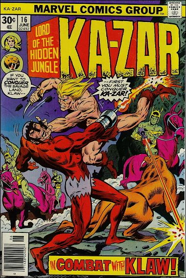 Ka-Zar (1974) 16-A by Marvel