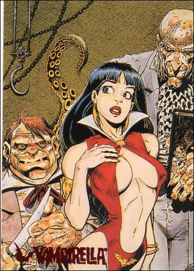 Visions of Vampirella 67-A by Topps