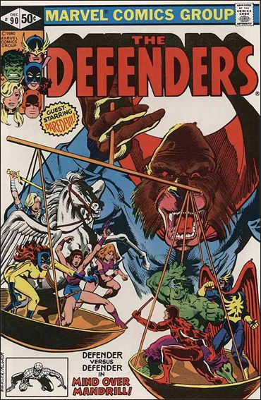Defenders (1972) 90-A by Marvel