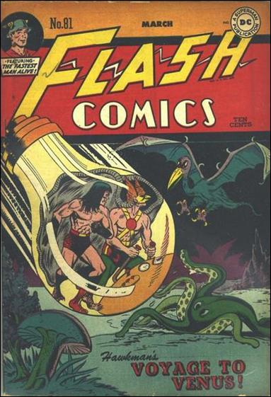 Flash Comics (1939) 81-A by DC