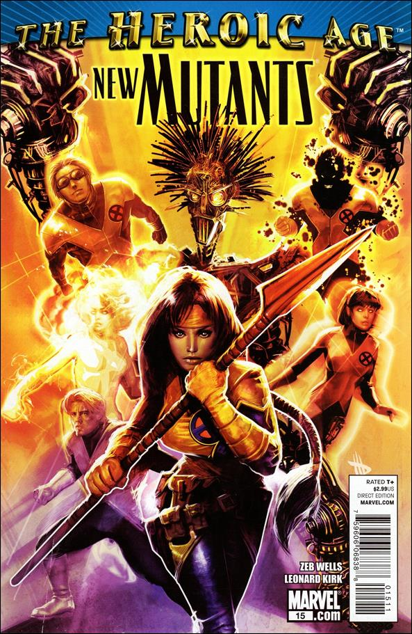 New Mutants (2009) 15-A by Marvel