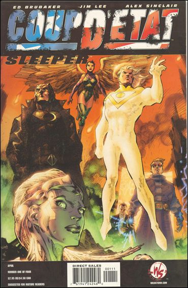 Coup D'Etat: Sleeper 1-A by WildStorm