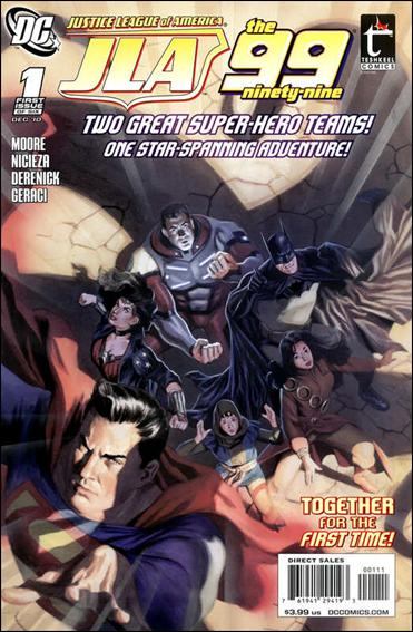 Justice League of America/The 99 1-A by DC