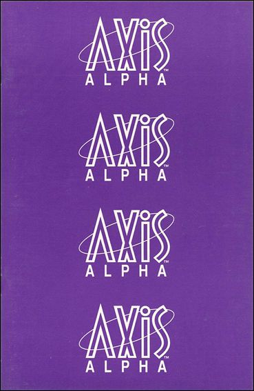 Axis Alpha 1-A by Axis Comics