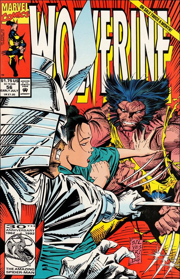 Wolverine (1988)  56-A by Marvel