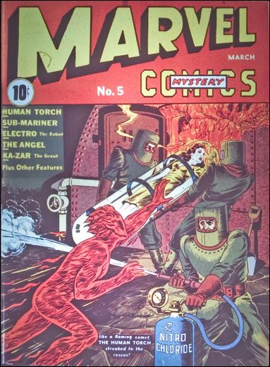 Marvel Mystery Comics (1939) 5-A by Timely