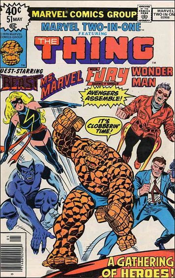 Marvel Two-in-One (1974) 51-A by Marvel