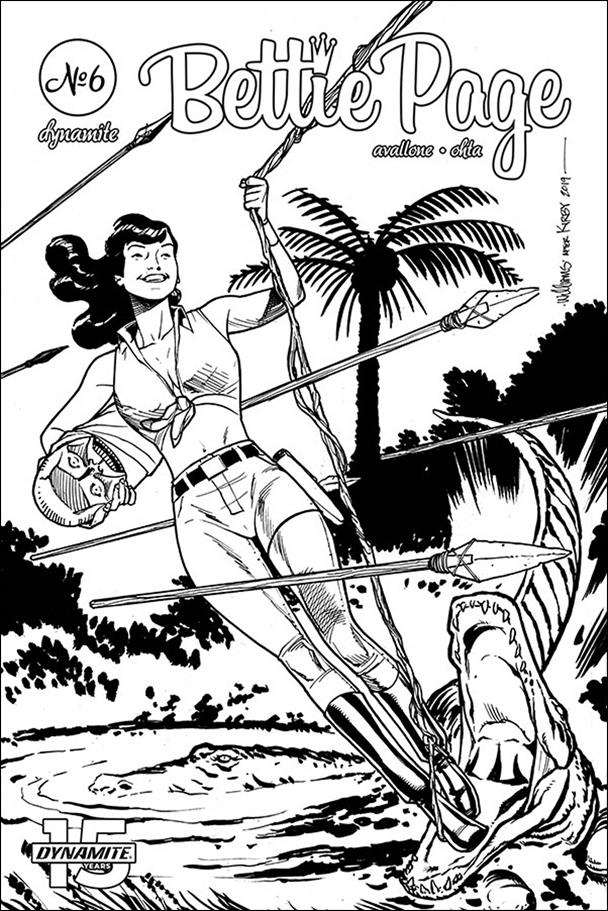 Bettie Page: Unbound 6-G by Dynamite Entertainment