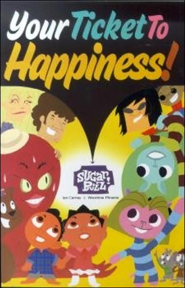 Sugar Buzz! Your Ticket to Happiness! 1-A by Slave Labor Graphics (SLG) Publishing