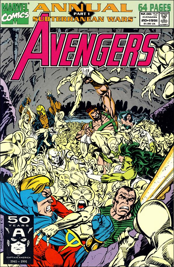 Avengers Annual 20-A by Marvel