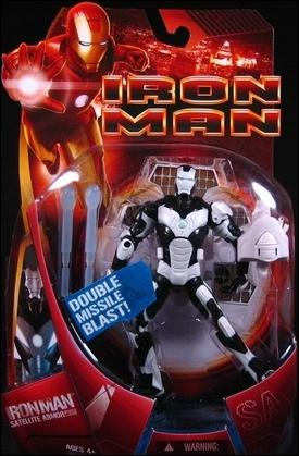 Iron Man (Movie) Iron Man (Satellite Armor - White) by Hasbro