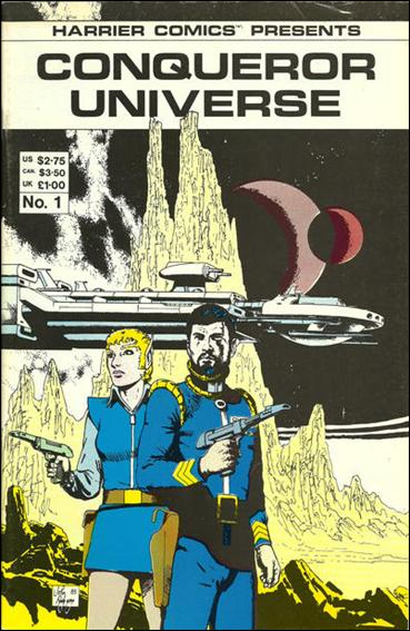 Conqueror Universe 1-A by Harrier Comics