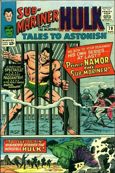Tales to Astonish (1959) 70-A by Marvel