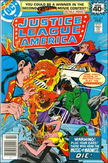 Justice League of America (1960) 163-A by DC