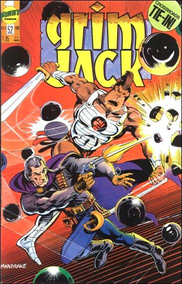 Grimjack 52-A by First