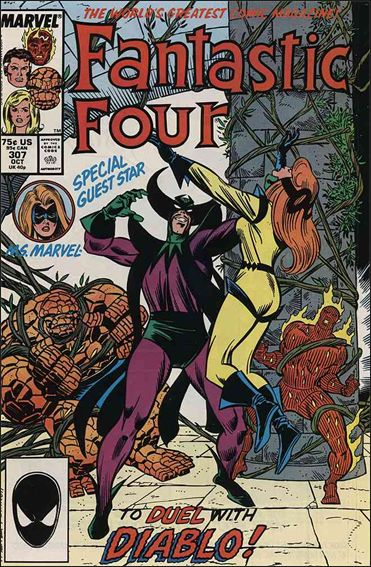 Fantastic Four (1961) 307-A by Marvel