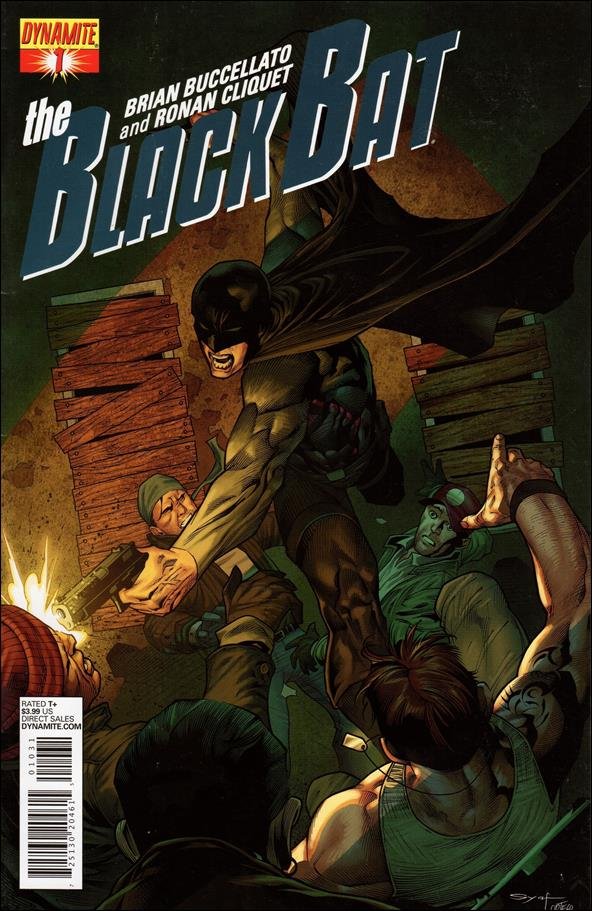 Black Bat (2013) 1-C by Dynamite Entertainment