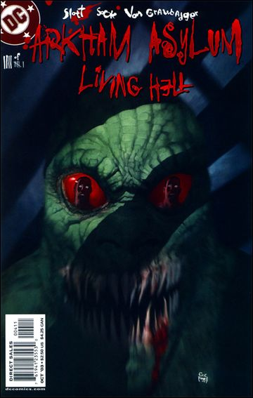 Arkham Asylum: Living Hell 4-A by DC