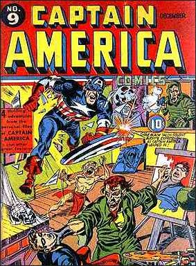 Captain America Comics (1941) 9-A by Timely