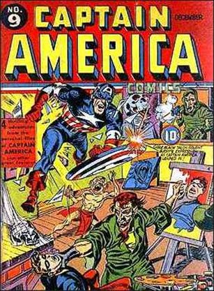 Captain America Comics (1941) 9-A