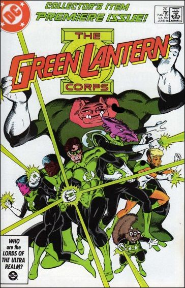 Green Lantern Corps (1986) 201-A by DC