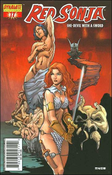 Red Sonja (2005) 17-A by Dynamite Entertainment
