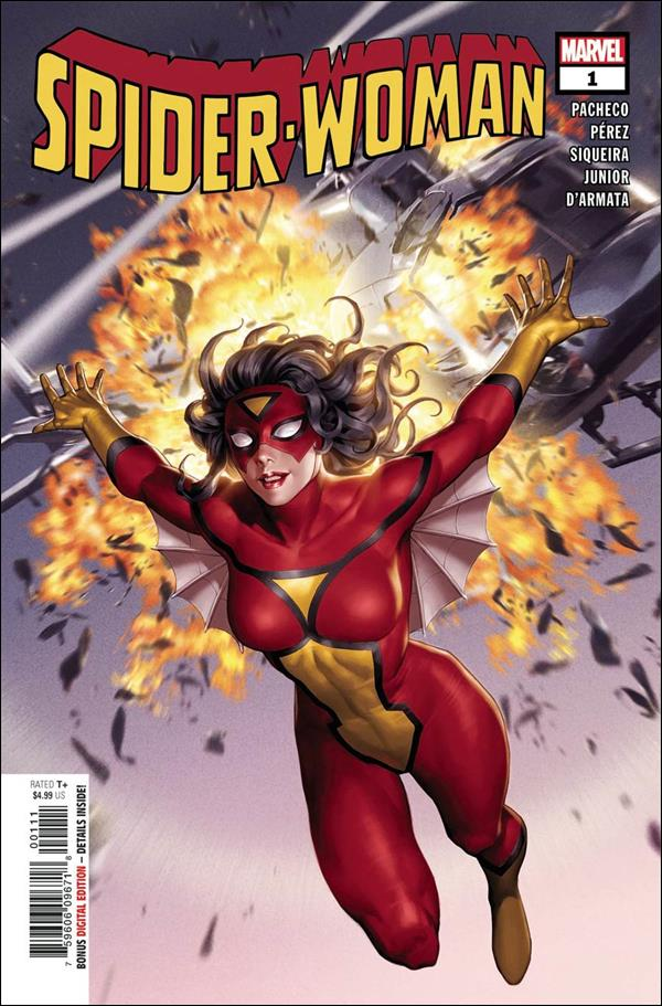 Spider-Woman (2020) 1-A by Marvel