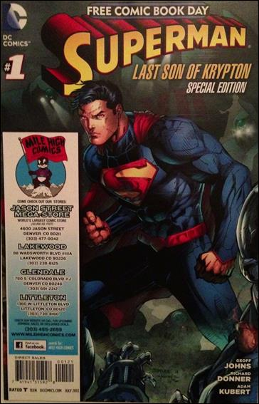 Superman: The Last Son of Krypton FCBD Special Edition 1-L by DC