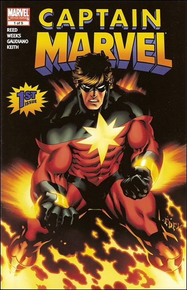 Captain Marvel (2008) 1-A by Marvel