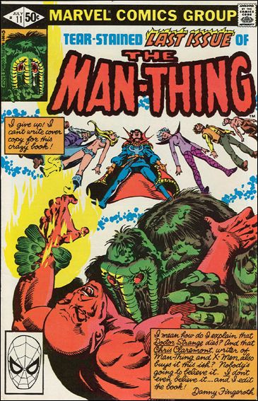 Man-Thing (1979) 11-A by Marvel