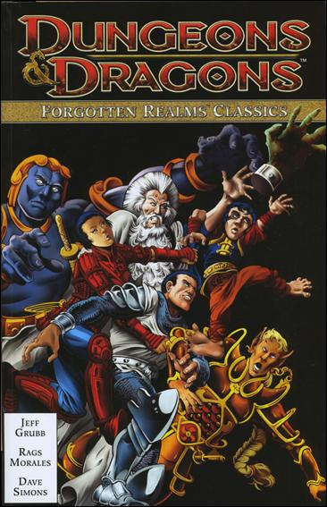 Dungeons & Dragons: Forgotten Realms Classics 1-A by IDW