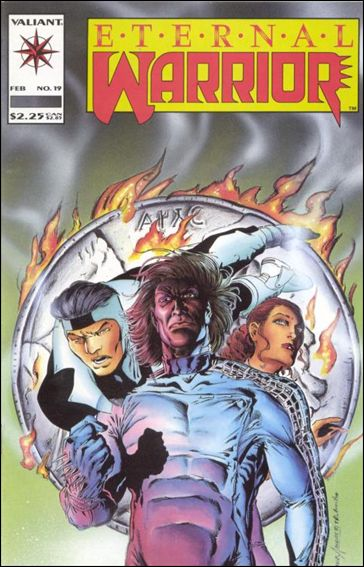 Eternal Warrior (1992) 19-A by Valiant