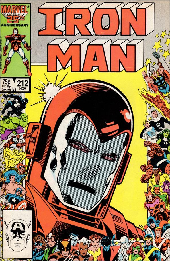 Iron Man (1968) 212-A by Marvel