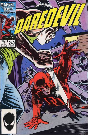 Daredevil (1964) 240-A by Marvel