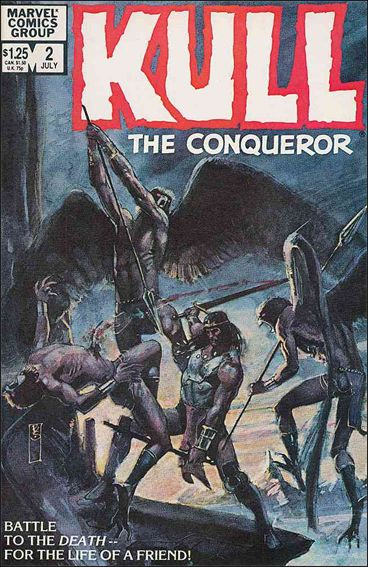 Kull the Conqueror (1983) 2-A by Marvel