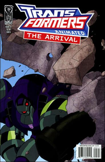 Transformers Animated: The Arrival 5-B by IDW