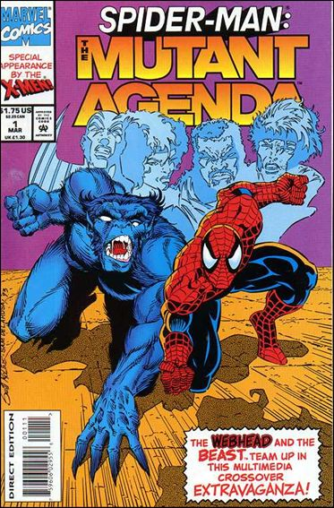 Spider-Man: The Mutant Agenda 1-A by Marvel