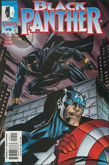 Black Panther (1998) 9-A by Marvel