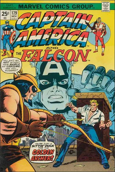Captain America (1968) 179-A by Marvel